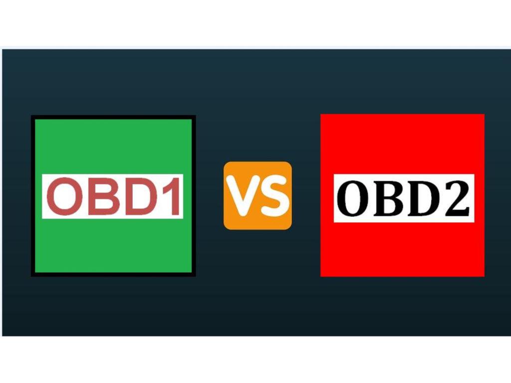 OBD1 vs. OBD2
