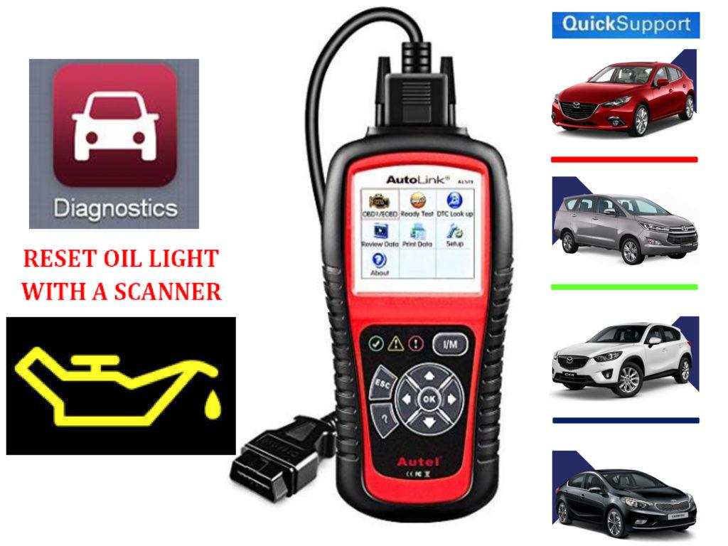 Reset Oil Light-OBD2