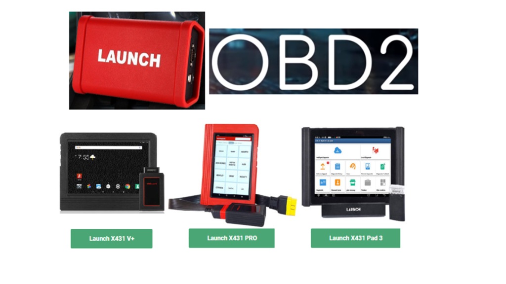 Launch OBD2 Scan Tool.