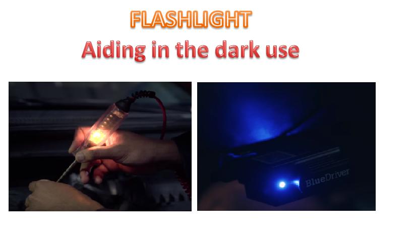 Bluedriver Flashlight