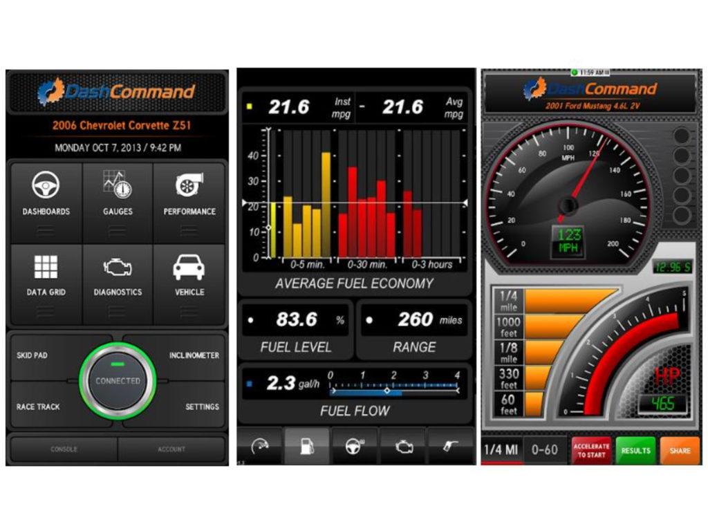 Dash Command OBD2 App